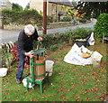 SO9437 : Kemerton Conservation Trust Apple Day by David Hawgood