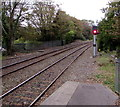 SW7734 : Signal T10 facing Penryn railway station by Jaggery
