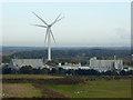 NZ2478 : Wind turbines at Cramlington by Oliver Dixon