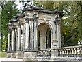 SJ8640 : Trentham Gardens - loggia by Chris Allen