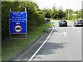 TL8666 : Northbound A134 by David Dixon