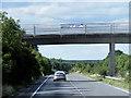 TL8566 : Bridge over Northbound A134 by David Dixon