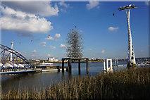 TQ3980 : Quantum Cloud next to North Greenwich Pier by Bill Boaden