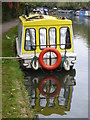 TQ1683 : A houseboat on the Paddington Branch of the Grand Union Canal at Perivale by Rod Allday