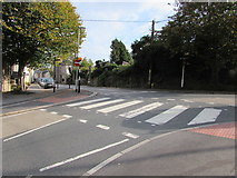 SW7834 : Zebra crossing, Station Road, Penryn by Jaggery