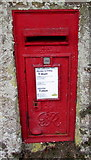 SW7834 : King George VI  postbox in Helston Road wall, Penryn by Jaggery