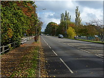 SK9567 : A1434 Newark Road in Lincoln by Mat Fascione