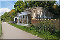 TQ0966 : Flower Shop, Walton-on-Thames by Alan Hunt