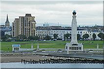 SZ6398 : The Naval Memorial by Anne Burgess