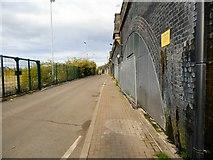 SJ8297 : Railway Arches at Cornbrook by Gerald England