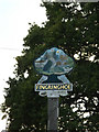 TM0220 : Fingringhoe Village sign by Adrian Cable