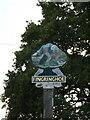 TM0220 : Fingringhoe Village sign by Geographer