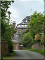 SP3433 : Hook Norton Brewery appears on Brewery Lane by Rob Farrow
