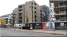 TQ3287 : New apartments on Green Lanes by David Martin
