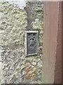 SW6128 : OS Flush Bracket - Breage Primary School by Richard Law