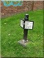 SP0588 : Milepost, Birmingham Canal Navigations by Alan Murray-Rust