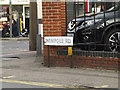 TM0024 : Wimpole Road sign by Adrian Cable
