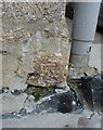 SW5140 : OS benchmark - St Ives, St Brigid's Apartments by Richard Law
