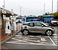 SU6770 : Recharging an electric car at Reading Services by Jaggery