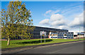 NZ1350 : Factory unit, Leadgate Industrial Estate by Trevor Littlewood