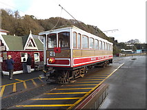 SC4077 : Tramcar 21 - Manx Electric Railway by Richard Hoare