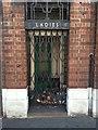 SK5839 : Derelict public toilets on Bath Street by David Lally