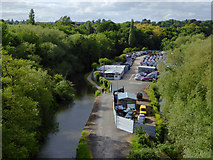 SO8275 : Staffordshire and Worcestershire Canal near Kidderminster, Worcestershire by Roger  Kidd