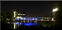 SE6250 : Central Hall Bridge at night by DS Pugh