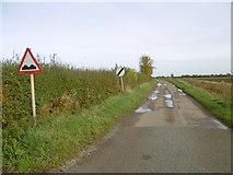 TF1122 : Change in road maintenance at Dyke by Marathon