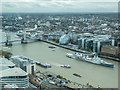 TQ3380 : View from Sky Garden, Fenchurch Street, London by Christine Matthews