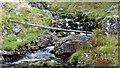 NS2359 : Gogo Glen Footbridge by Raibeart MacAoidh