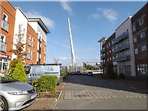 TM1543 : Compair Crescent, Ipswich by Adrian Cable