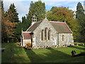 NT1634 : The Balfour Chapel at Dawyck by M J Richardson