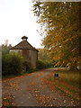 SP0102 : Dovecote, Cirencester Park by Vieve Forward