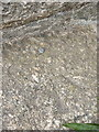 SW5928 : OS rivet - Hendra Croft, former tollhouse by Richard Law