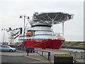 "NZ3181 : ""Skandi Carla"" at Blyth Quay by Oliver Dixon"