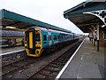 SH6115 : Cambrian Coast train at Barmouth by John Lucas