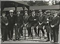 TF4509 : Dealers at Wisbech Cattle Market, Cambridgeshire by The Humphrey Family Archive