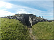 HY6737 : Sanday: Quoyness chambered cairn by Chris Downer