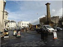 SC2667 : Castletown Square regeneration works by Richard Hoare