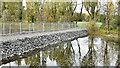 J3675 : Contractors' causeway, Victoria Park, Belfast (October 2015) by Albert Bridge