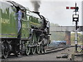SO8375 : Tornado at Kidderminster by Chris Allen