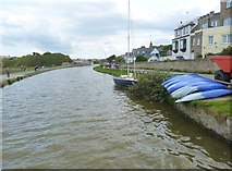 SS2006 : The Bude canal from the gates of the sea lock by Derek Voller