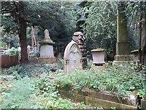 TQ2887 : Tombs in the Trees by Bill Nicholls