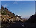 SH7150 : A470 through rock cutting by John Firth