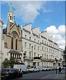 TQ2879 : 11b-16 West Halkin Street by Stephen Richards