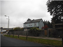 TQ2387 : Lone houses on Claremont Road, Cricklewood by David Howard