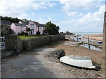 SS2006 : Efford Cottage and Bude Haven, Bude  Cornwall by Derek Voller