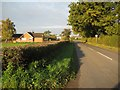 SO8547 : Road at Baynhall by Philip Halling