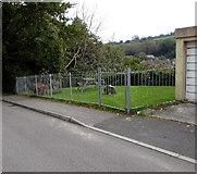 SW7834 : Public area alongside Saracen Way, Penryn by Jaggery